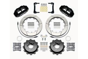 Wilwood FNSL4R 12.88in Rear Kit Black - Scion FR-S 2013-2016 / Subaru BRZ 2013+ / Toyota 86 2017+
