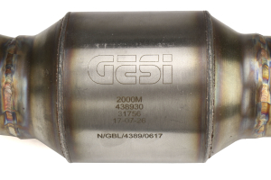 COBB Tuning GESI Catted 3in Downpipe  - Volkswagen Golf R (Mk7) 2015+