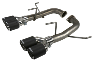 MBRP 2.5in Quad Carbon Fiber Tip Axle Back Exhaust - Subaru WRX / STI 2015+