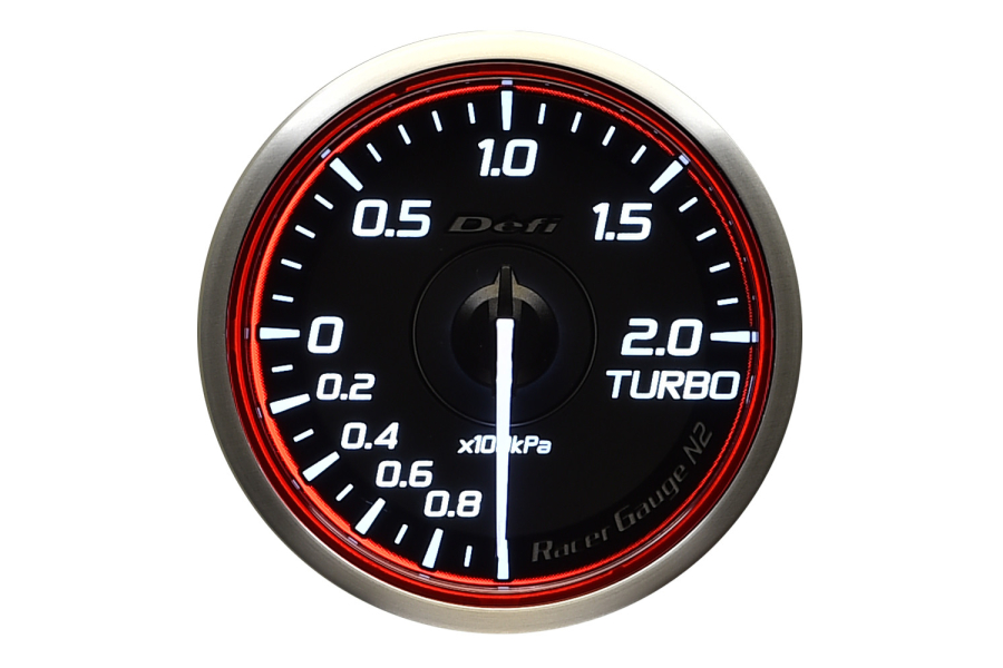 Defi DF Racer N2 Metric Boost Gauge 60mm - Universal