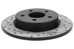 Stoptech Drilled Rear Rotor Pair ( Part Number:STP 128.61099-GRP)