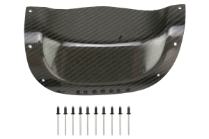 Subtle Solutions Carbon Fiber Exhaust Heatshield ( Part Number: EXT-0308-CAF)