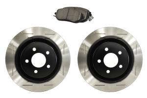 Sparta Evolution Brakes Stage 1 Front Brake Kit Wing Slot - Subaru Models (inc. 2011-2014 WRX / 2013-2020 BRZ)