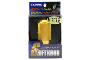Carbing High Grip Shift Knob Gold M12x1.25 (Part Number: )