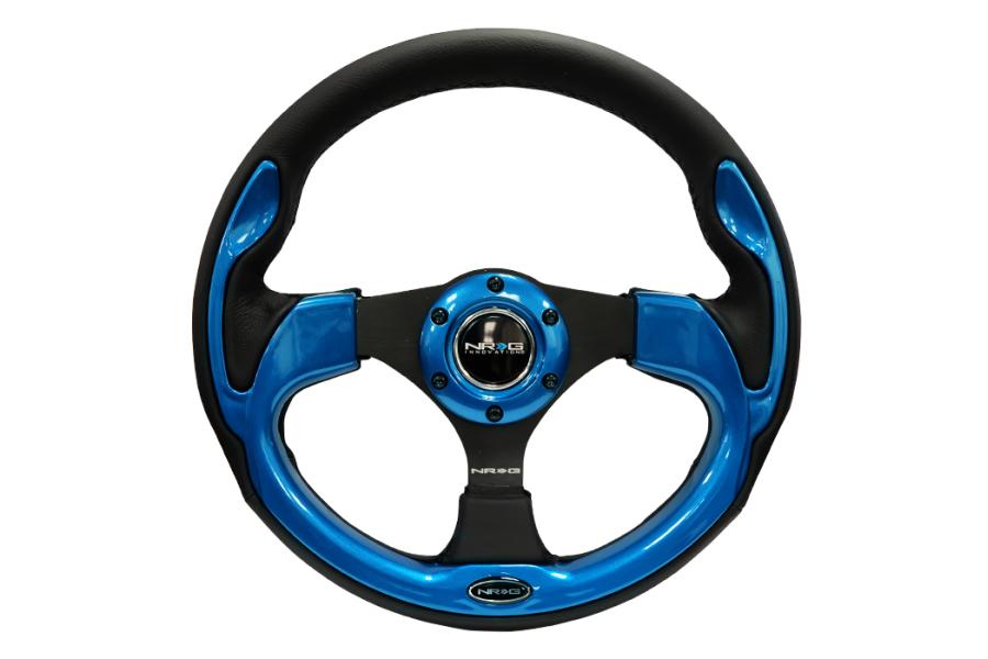 NRG Reinforced Steering Wheel 320mm Pilota Blue - Universal