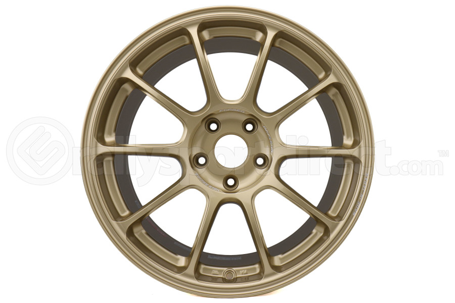 Volk ZE40 Face 2 18x9.5 +45 5x114.3 Gold - Universal