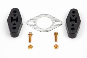 Lachute Performance Muffler Delete w/ Carbon Tip - Subaru Crosstrek 2013-2017