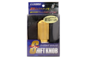 Carbing High Grip Shift Knob Gold M10x1.25 (Part Number: )