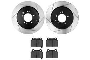 Stoptech Street Axle Pack Slotted Rear ( Part Number:STP 937.46516)