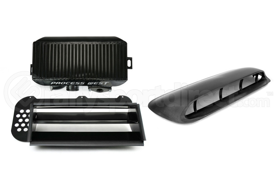 Process West JDM Hood Scoop Top Mount Intercooler Kit ( Part Number:RSD PWJDMFXT)
