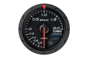 Defi Advance CR Boost Metric 52mm Gauge ( Part Number:DEF2 DF07802)