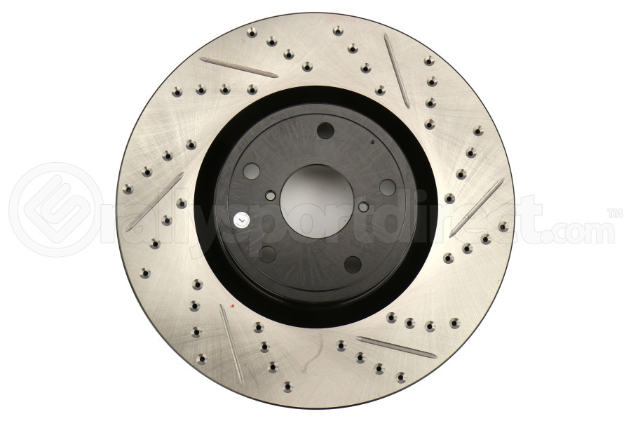 Stoptech Drilled and Slotted Rotor Single Front Left (Part Number:127.47022L)