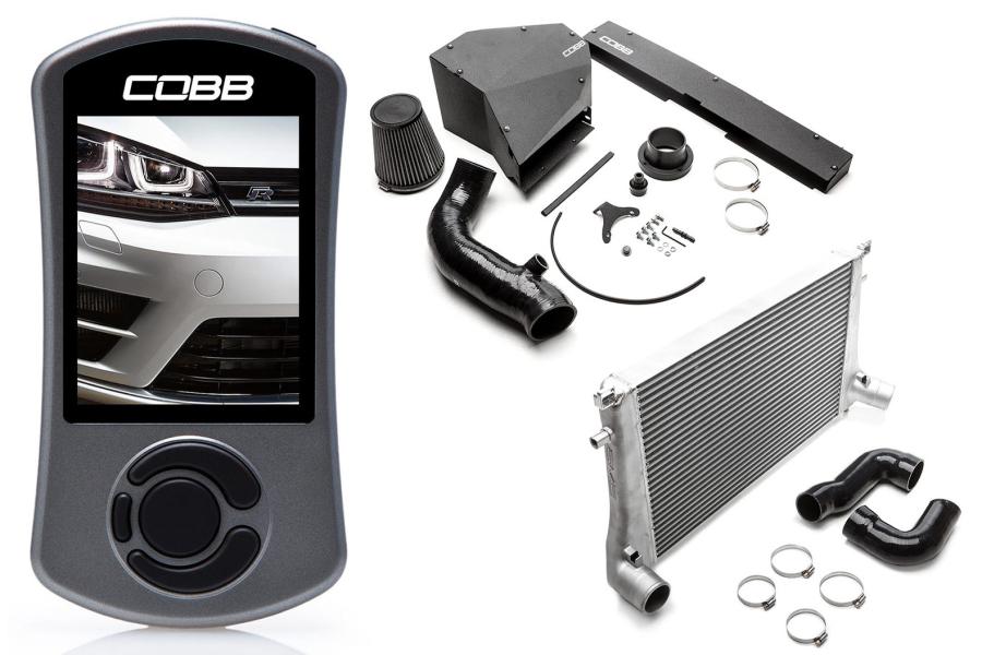 COBB Tuning Stage 2 Power Package Black - Volkswagen Golf R (Mk7) 2015+