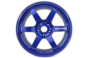 Volk TE37 SAGA 18x9.5 +38 5x114.3 Hyper Blue - Universal