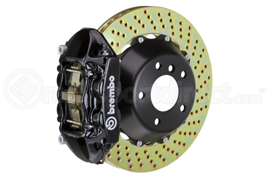 Brembo Gran Turismo Drilled Brake Kit 4 Piston 2-Piece Black Rear - Scion FR-S 2013-2016 / Subaru BRZ 2013+ / Toyota 86 2017+