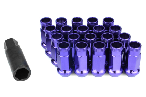 Muteki SR48 Purple Open Ended Lug Nuts 12X1.25 (Part Number: )