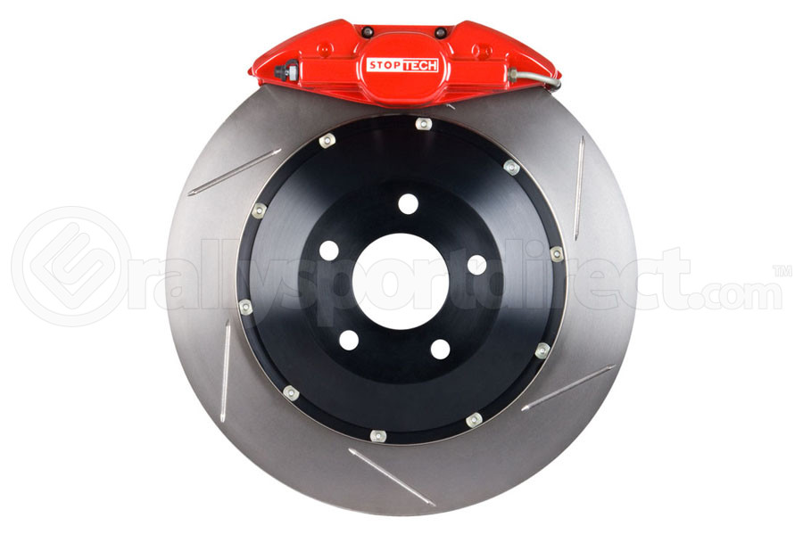 Stoptech ST-22 Big Brake Kit Rear 345mm Red Slotted Rotors (Part Number:83.842.002G.71)