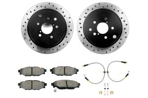 Stoptech Sport Kit Drilled Rear ( Part Number:STP 979.47007R)