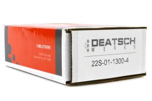 DeatschWerks Fuel Injectors 1300cc ( Part Number:DET 22S-01-1300-4)