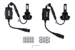 OLM Alpha HD 9005 H10 Bulbs 5500k - Universal