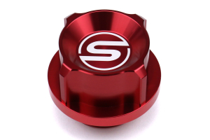 SubiSpeed Oil Filler Cap Red - Subaru Models (inc. WRX 2015 - 2020)