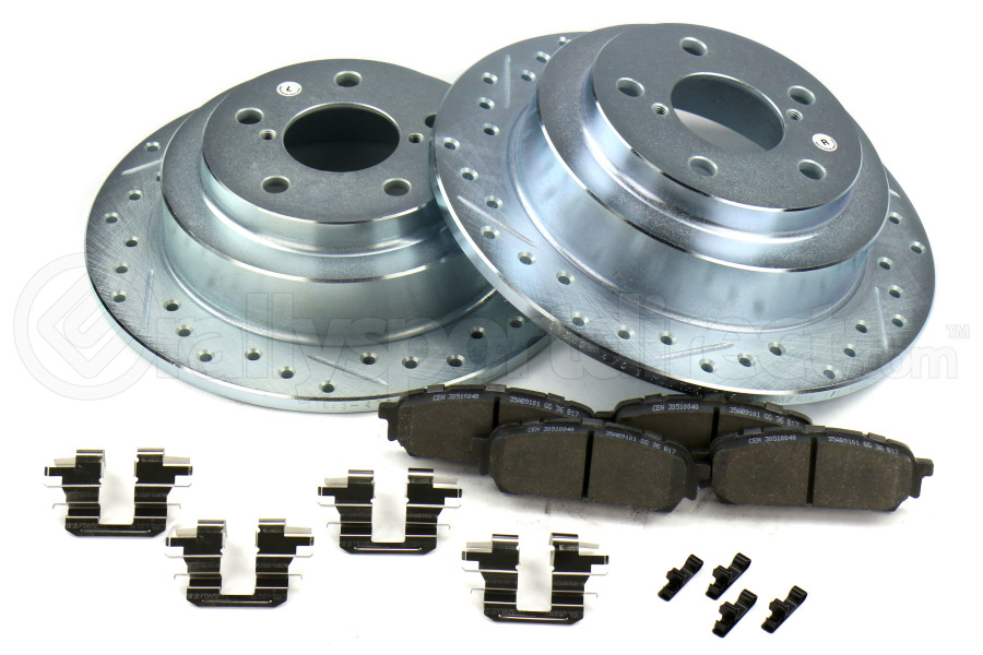 Stoptech Select Sport Brake Kit Rear - Subaru Models (inc. 2003-2005 WRX / 2003-2008 Forester)