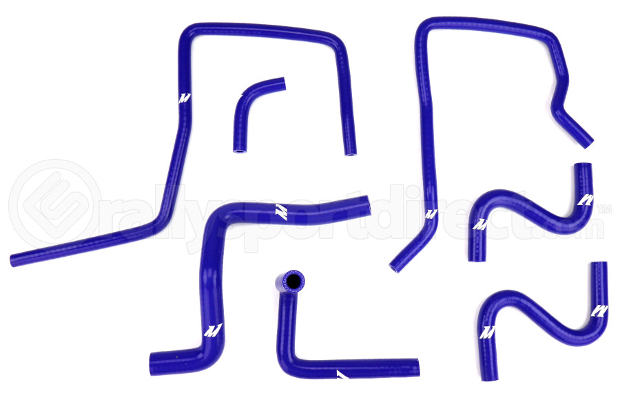 Mishimoto Silicone Ancillary Hose Kit Blue (Part Number:MMHOSE-SUB-ANC4BL)