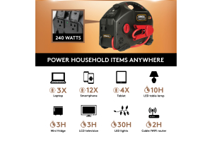 Duracell Powerpack Pro 1100 - Universal