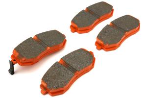 EBC Brakes Orangestuff Race Front Brake Pads - Subaru Models (inc. 2003-2005 WRX / 2003-2010 Forester)