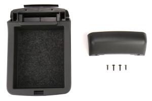 Subaru JDM Dual Console Arm Rest Extension Charcoal Gray - Subaru WRX / STI 2015-2020