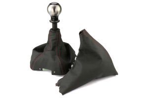 AutoStyled Shift and Brake Boot Kit w/ Shift Knob (Part Number: )