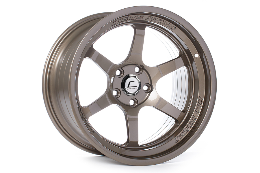 Cosmis Racing Wheels XT-006R 18x9.5 +10 5x114 Bronze (Part Number:XT006R1895105X1143BR)