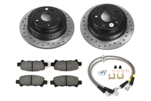 Stoptech Sport Kit Drilled Rear ( Part Number:STP 979.47004R)