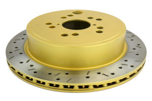 DBA 4000 Drilled/Slotted Rotor Single Rear (Part Number: )