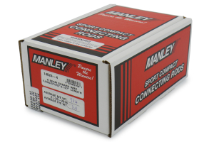 Manley Economical H Beam Steel Connecting Rod (Part Number: )