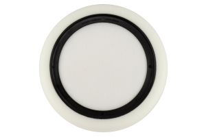 Chemical Guys Hex-Logic Self-Centered Medium-Light Polishing Pad White 7.5 Inch - Universal