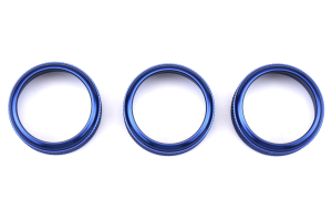 SubiSpeed Climate Control Knob Covers Blue - Subaru Models (inc. 2015+ WRX / 2014+ Forester)