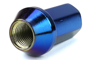 KICS Project Heptagon Caliber 24 Blue Titanium Closed Ended Lug Nuts 12X1.25 (Part Number: WHPC03)