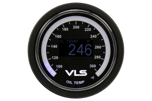 REVEL VLS Oil Temp Gauge 52mm (Part Number: )