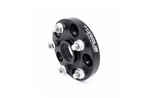 Torque Solution Forged Aluminum Wheel Spacer 5x114.3 20mm Black Pair - Subaru Models (inc. 2005+ STI / 2015+ WRX)