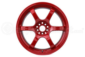 Gram Lights 57DR 18x9.5 +38 5x114.3 Milano Red - Universal