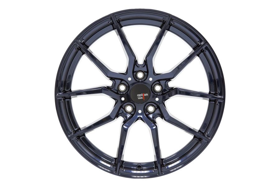 Option Lab Wheels R716 18x9.5 35mm 5x114.3 Midnight Blue - Universal