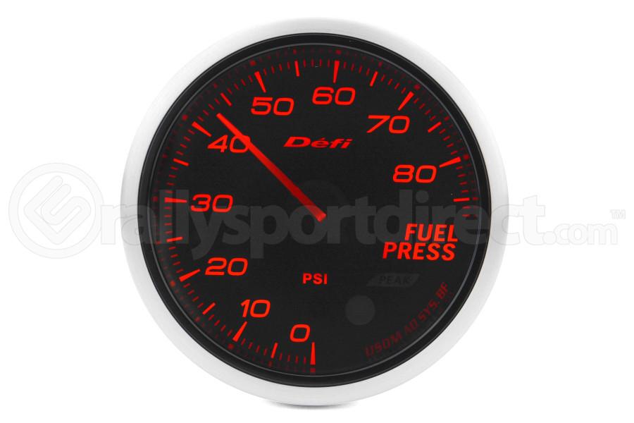 Defi Advance BF Amber Fuel Pressure Imperial 60mm Gauge (Part Number:DF10304)