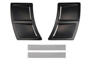 OLM S207 Style Rear Bumper Vent Inserts - Subaru WRX / STI 2015+