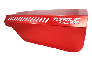 Torque Solution Engine Pulley Cover Red (Part Number: )