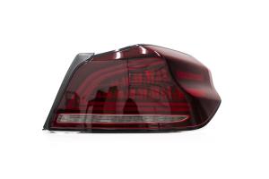 OLM Spec CR Sequential Tail Lights Red Lens / Black Base - Subaru WRX / STI 2015+