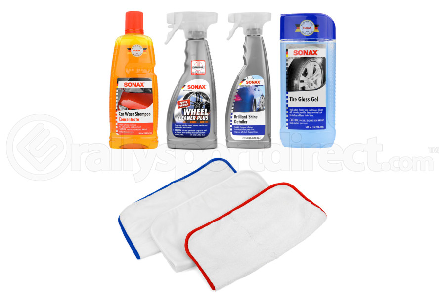 Complete Auto Exterior Cleaning Kit (Part Number:EXTCLEAN)