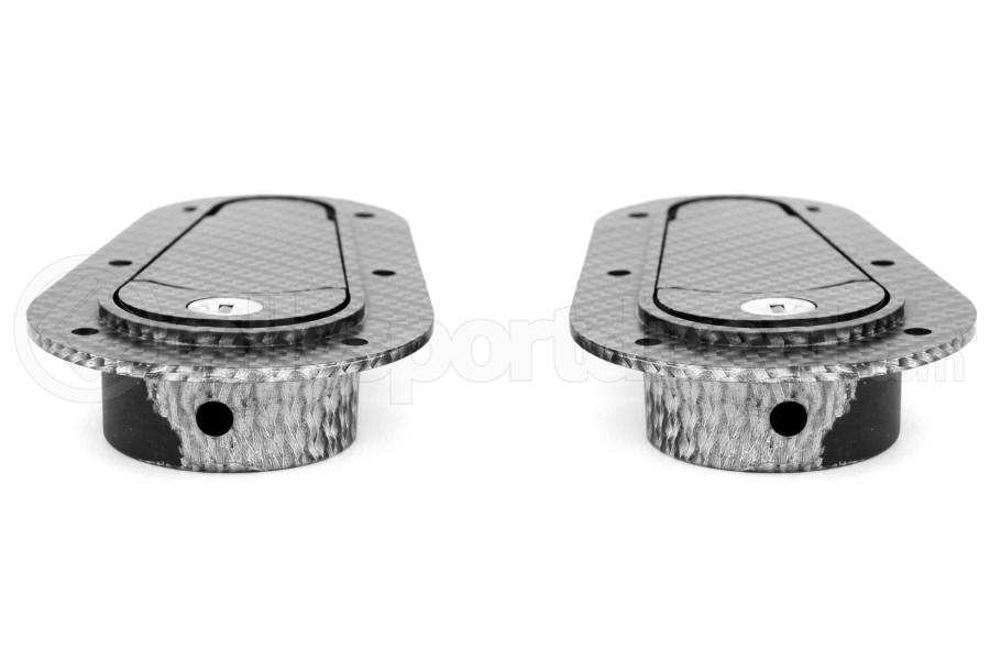 Aerocatch Hood Pins Flush Locking Carbon Look (Part Number:125-3100)