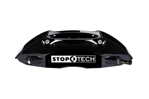 Stoptech ST-40 Big Brake Kit Front 332mm Black Slotted Rotors ( Part Number:STP 83.838.4600.51)