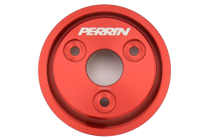 PERRIN Water Pump Pulley Red ( Part Number: PSP-ENG-111RD)